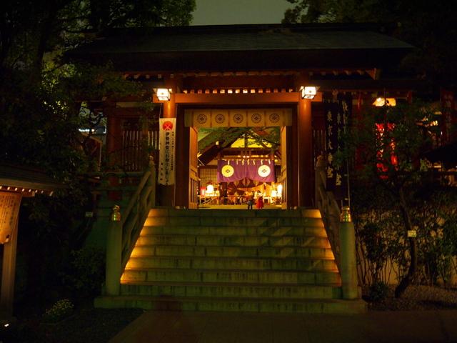 東京大神宮の「夜」の写真 (3987)