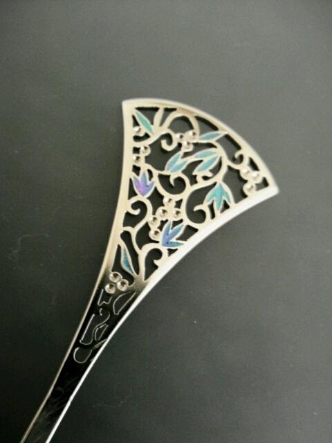 透かし簪|titan art jewelry アトリエYOU (4819)