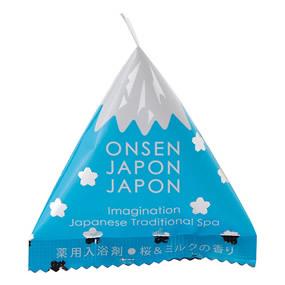 外国の方へのお土産にも◎富士山型の入浴剤