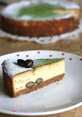 ③和風のベークドチーズケーキ