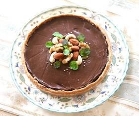 ⑤和美食 焼かずに作る♪チョコレートケーキ