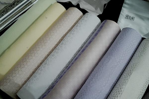 御召は最高級の絹織物