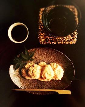 豆腐を使ったわらび餅!