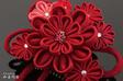 [髪飾り 和装 つまみかんざし]2点セット 和装 花 ...